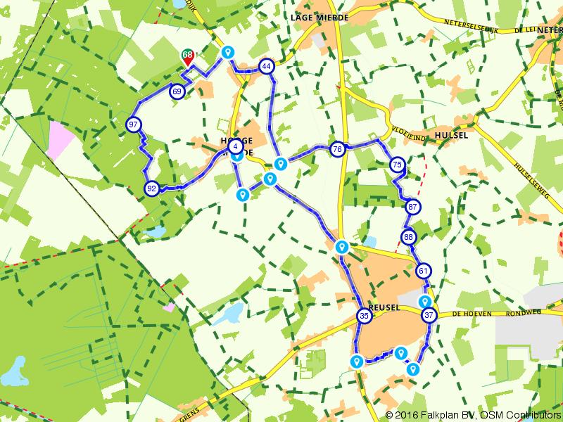 Internationale Kempische Wandeltocht. Dag 1 - 20 km