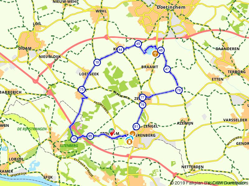 Montferlandse Meizoentjes Route
