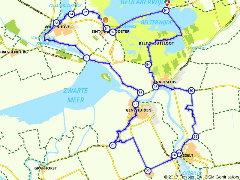 Vanuit de Wieden naar historisch Hasselt