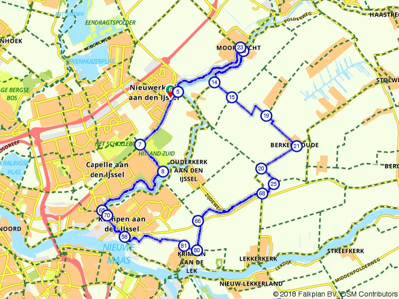 Fietsen door de Zuid-Hollandse polder