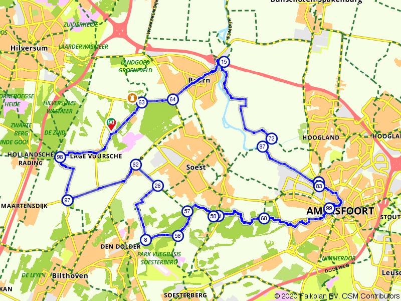 De bossen rondom Soest en Lage Vuursche