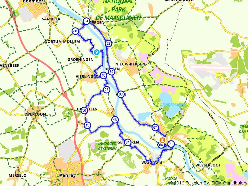 Een rondje langs de Maas