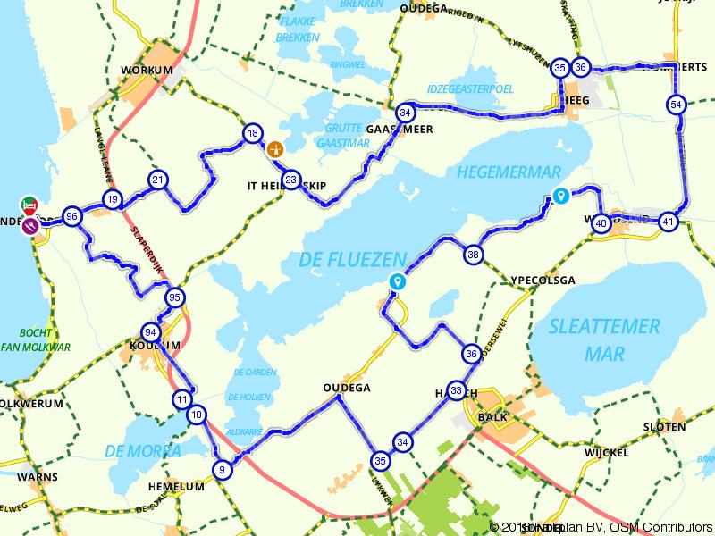 Een rondje Zuidwest-Friesland