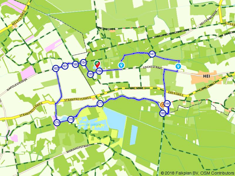 Wandelen door het natuurgebied Kempen-Broek