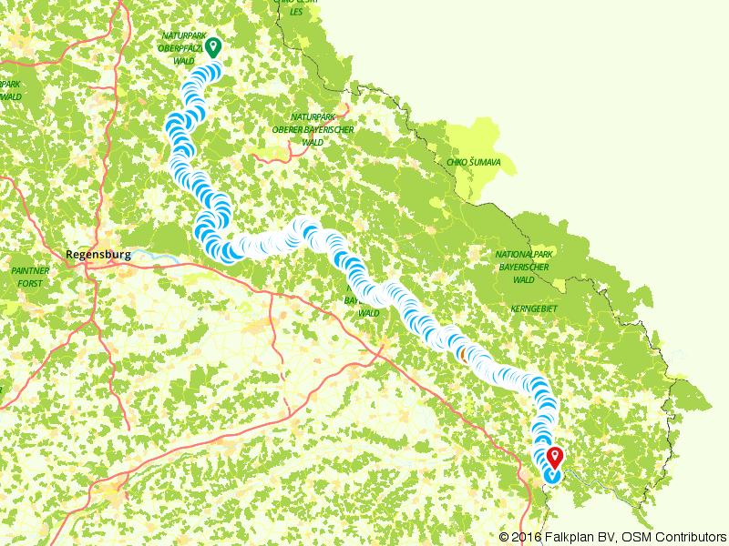 Goldsteig Sudweg: het langste wandelpad van Duitsland