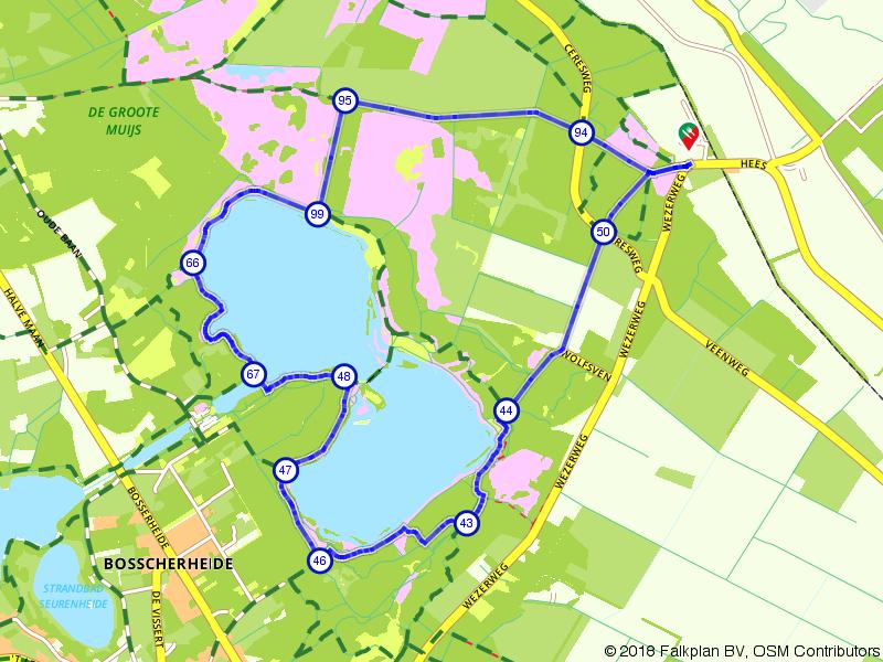Wandelen rondom het Reindersmeer