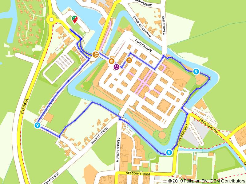 Stadswandeling door vestingstad Elburg