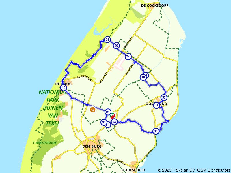 Een stevige wandeling over Texel