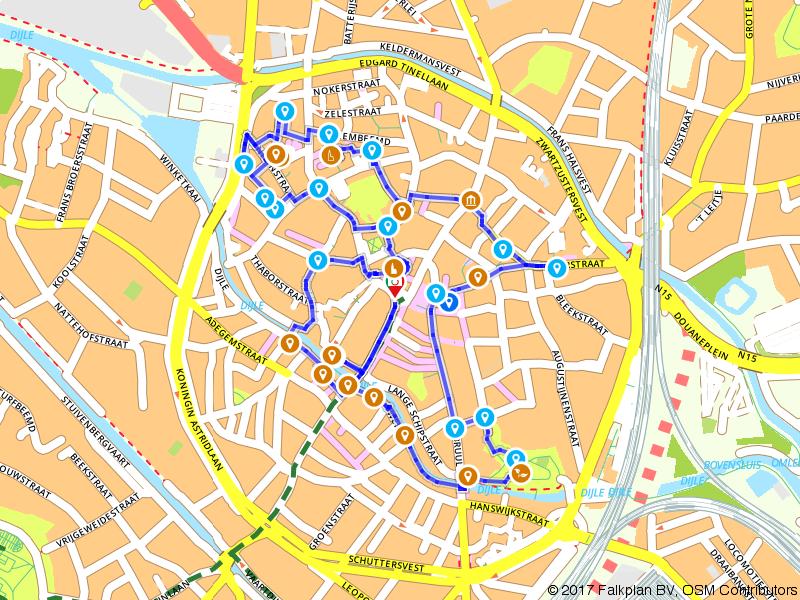 Stadswandeling langs de toppers van Mechelen