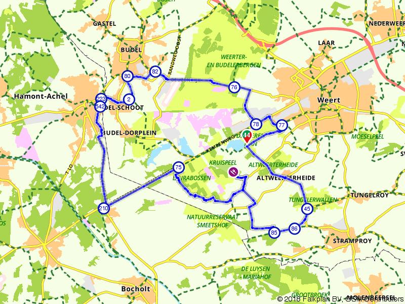 Proef de rust in grenspark Kempen-Broek