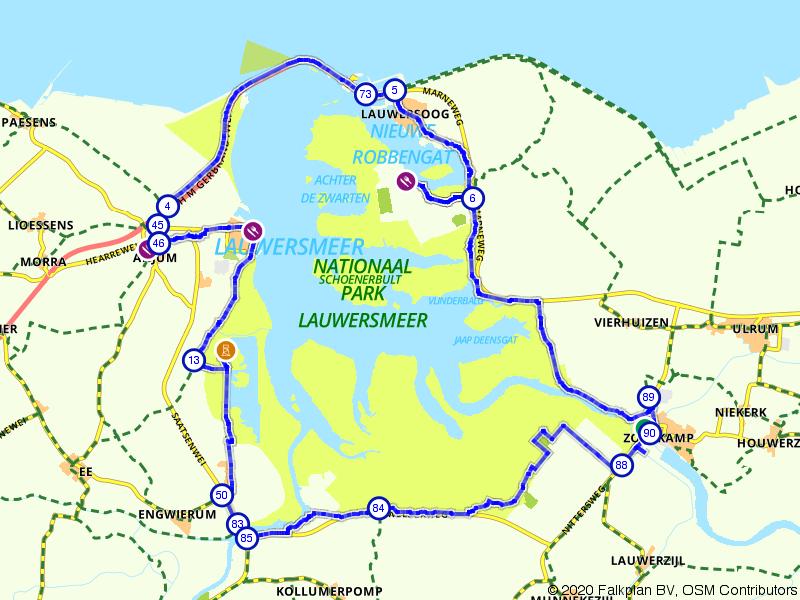 Een rondje Lauwersmeer