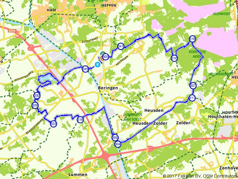 Ontdek het natuurschoon rondom Beringen
