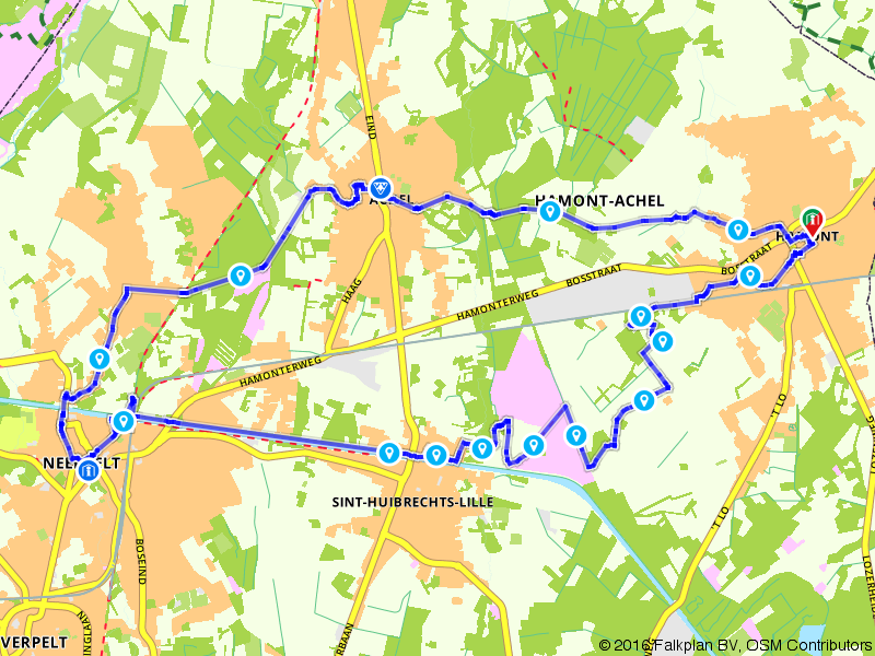 Wandelen in Hamont-Achel
