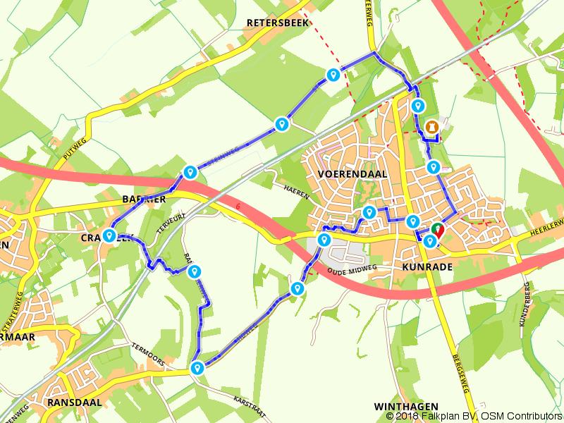 Te voet van Voerendaal naar Craubeek