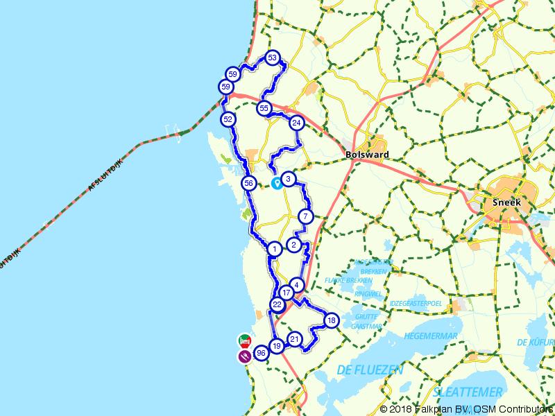 Een rondje naar de Afsluitdijk
