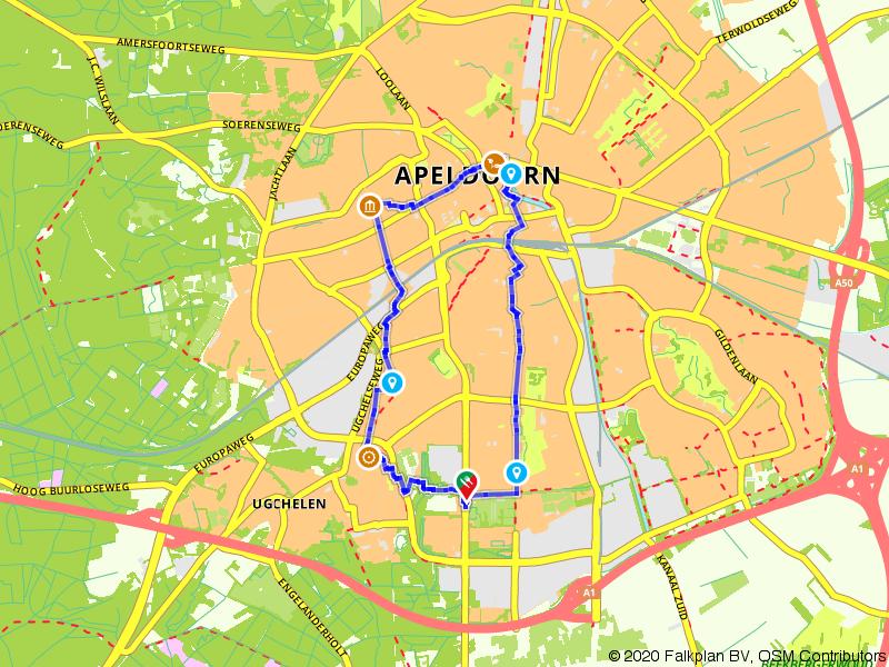 Stadswandeling papierstad Apeldoorn