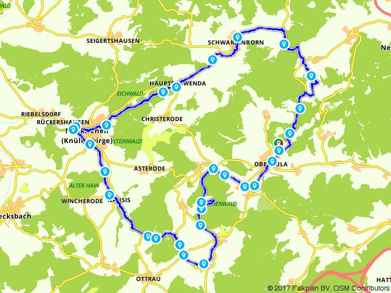 Tour durch den Knüll und das RotkäppchenlandHeidrun