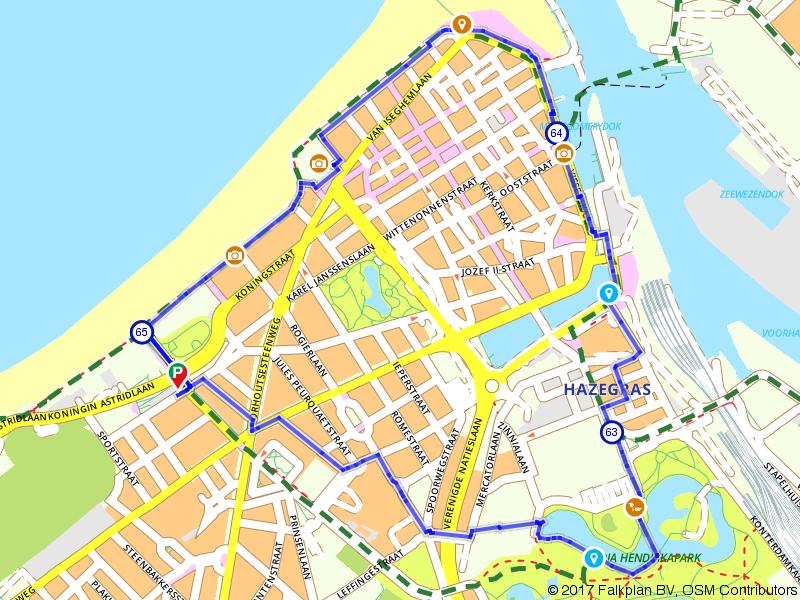 Zee van Smaak stadswandeling in Oostende