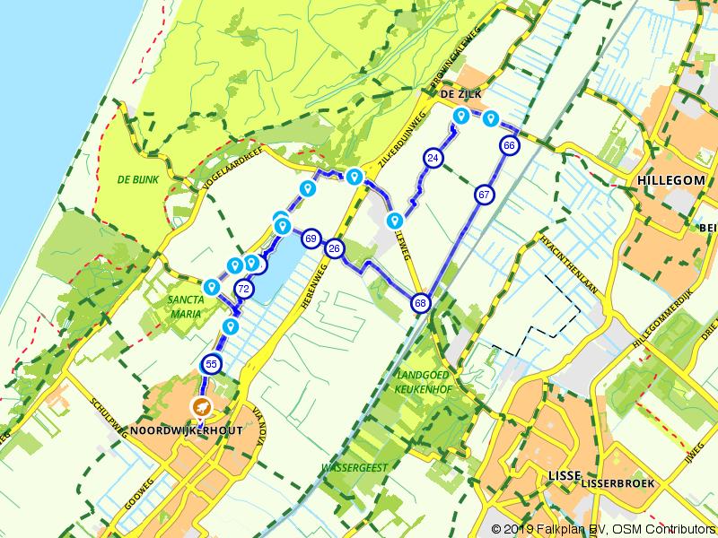 Ontdek de bloembollenvelden bij Noordwijkerhout