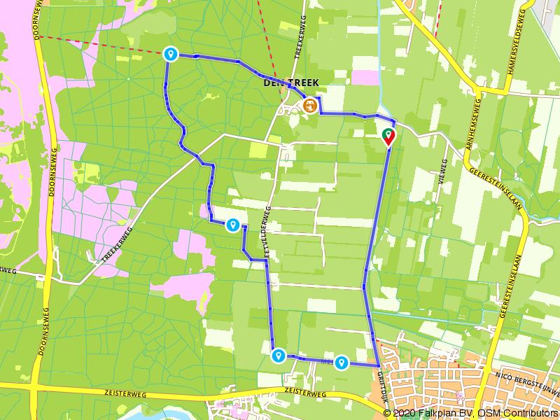 Vanuit Woudenberg De Utrechtse Heuvelrug op