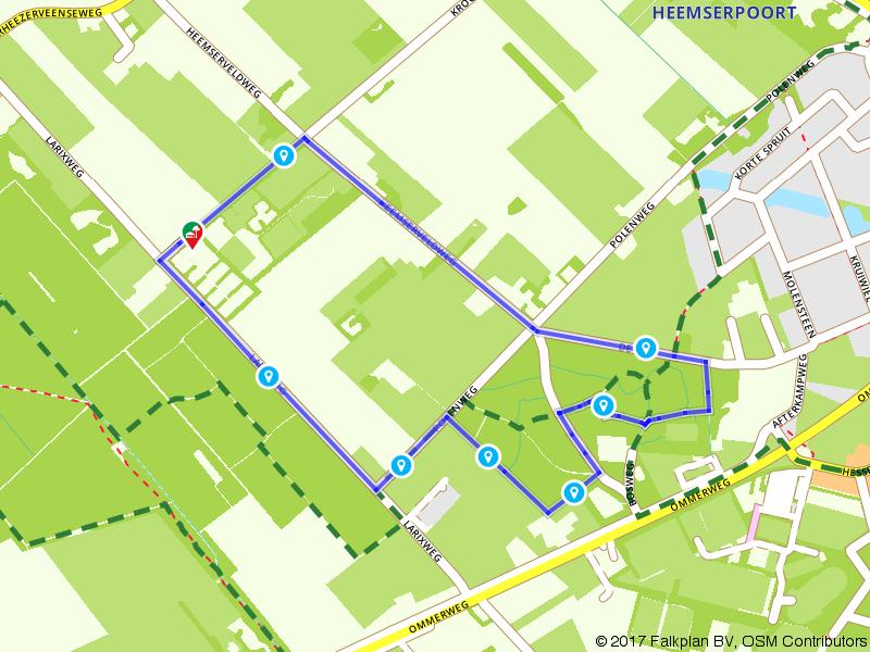 Een mooie wandeling bij Hardenberg