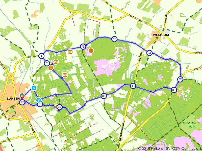 Fiets naar het Middelpunt van Nederland
