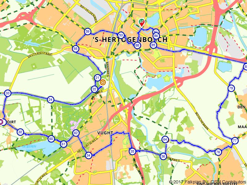 Fietsen door 's-Hertogenbosch en omgeving