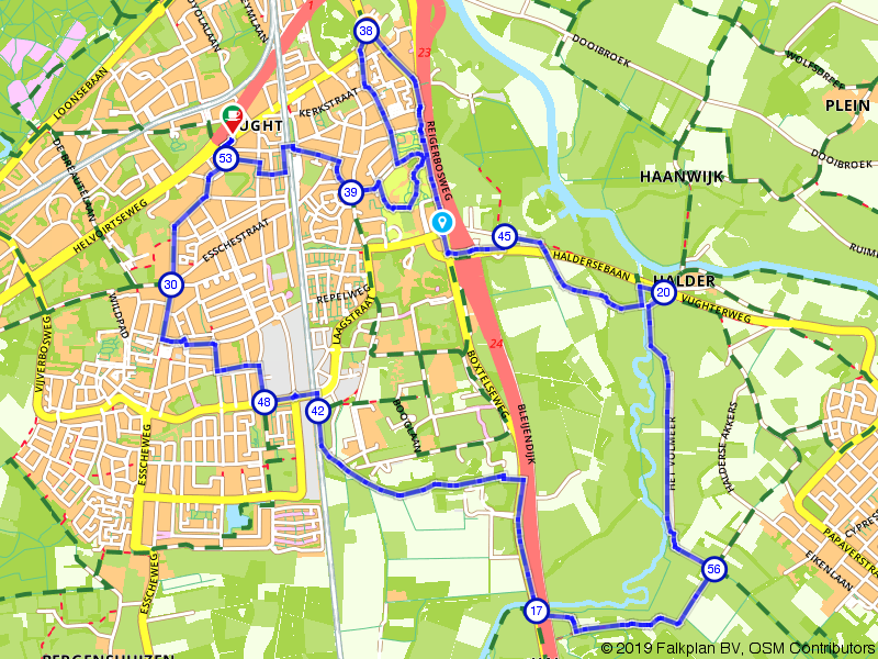 Wandelen door Vught en langs de Essche Stroom