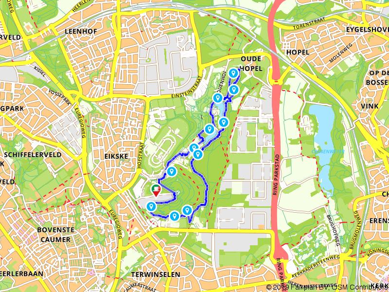 Wandelen door het Strijthagerbeekdal