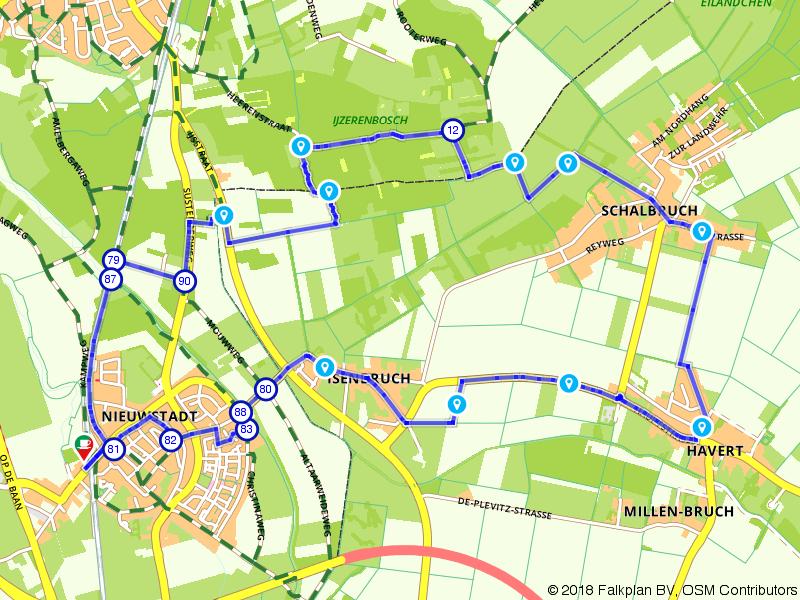 Duitse dorpjes verkennen vanuit Nieuwstadt