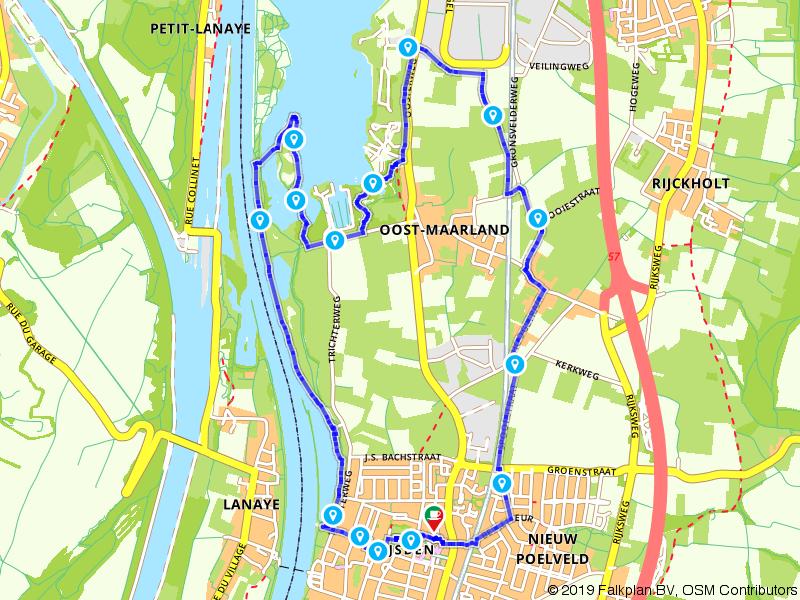 Wandelen langs de Maas en door Eijsden