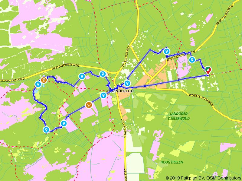 Een dagje wandelen over de Veluwe