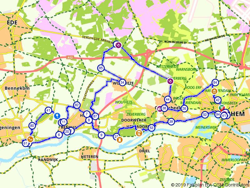 Kastelen en Landgoederenroute op de Veluwezoom | West