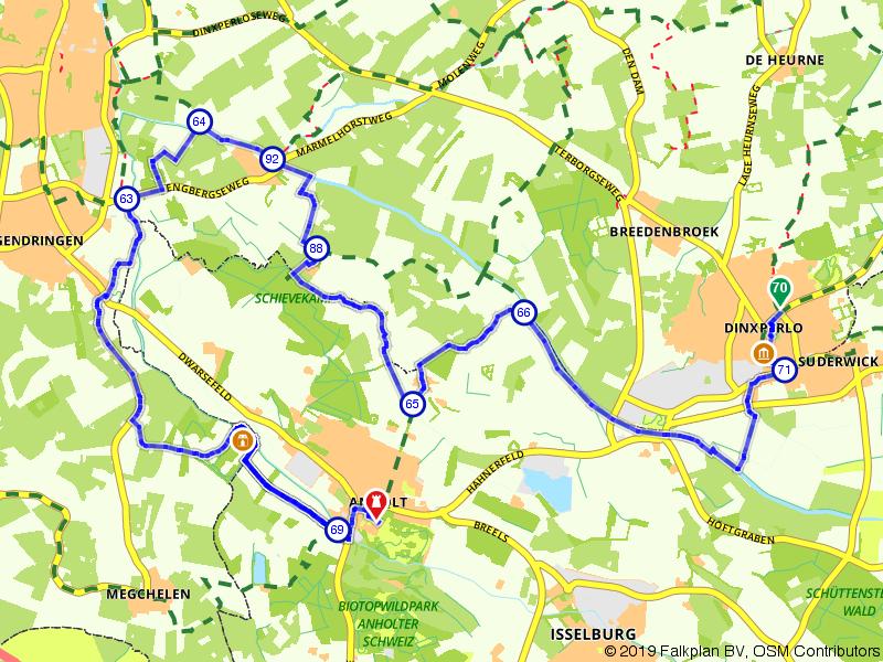 Gelderland 13 | Een bocht langs een oude heerlijkheid: Dinxperlo – Anholt