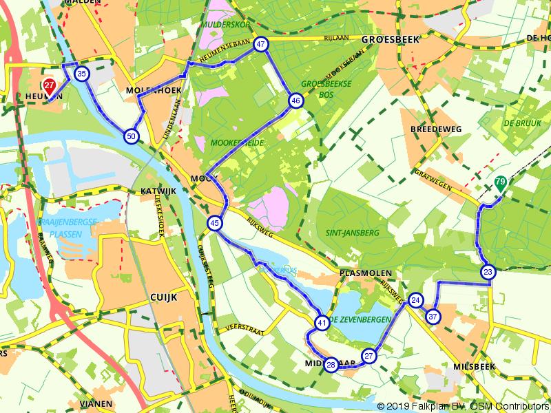 Gelderland 17 | Door plas en heide: Grafwegen – Heumen