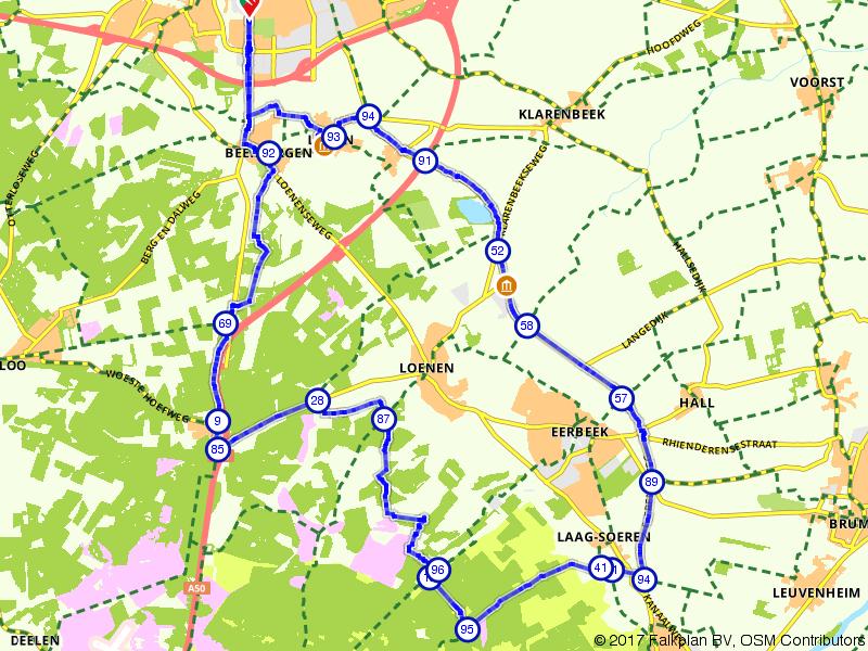 Rondje Veluwezoom vanuit Apeldoorn