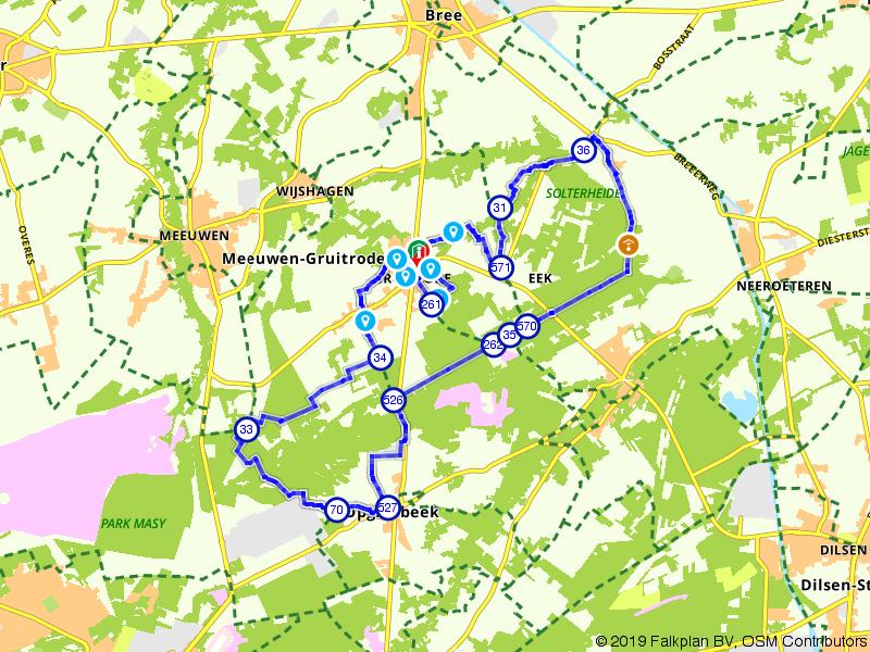 Geuzenbaan fietsroute, waar natuur en landbouw samengaan.