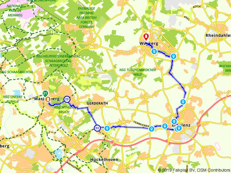 Overkwartier 10 | Terug naar de oorsprong: Wassenberg – Wegberg