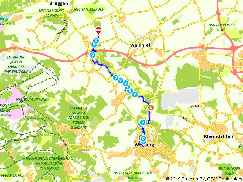 Overkwartier 11 | De Swalm, grens en naamgever: Wegberg - Brempt