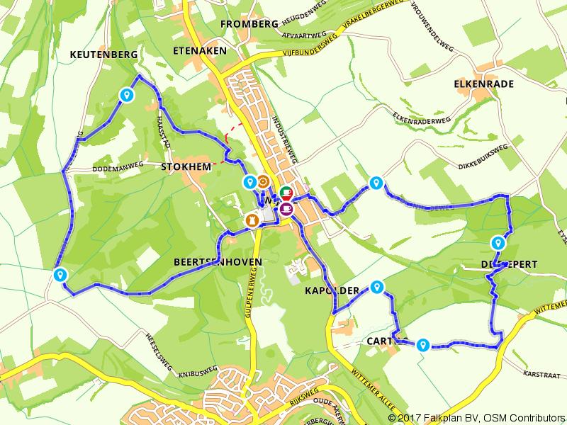 Via het Geuldal naar de Dolsberg