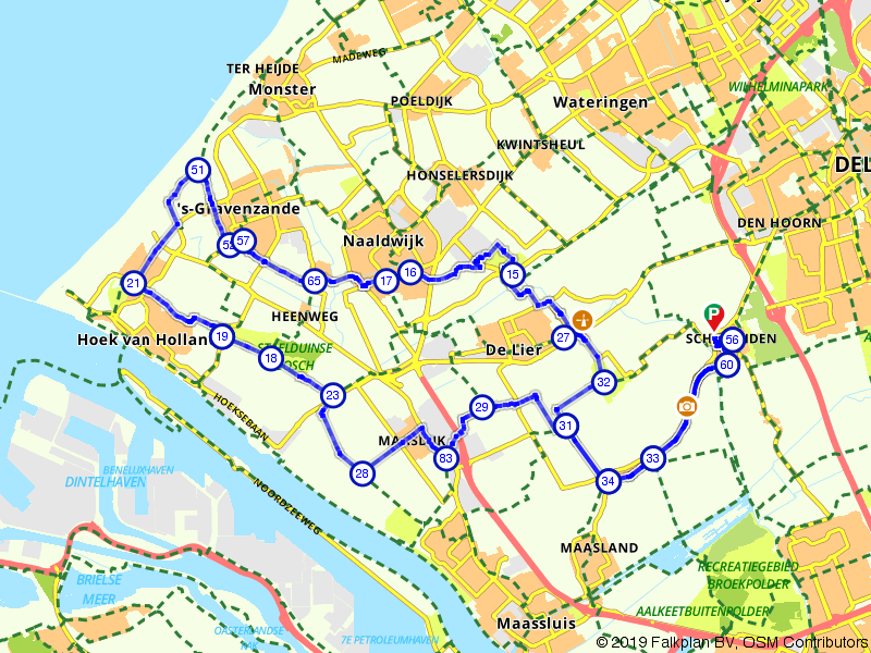 De oude Maasdijken van Midden-Delfland