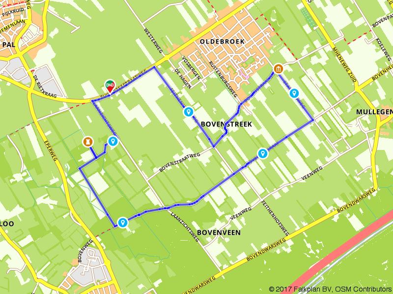 Rondje Oldebroek: langs Landgoed Zwaluwenburg