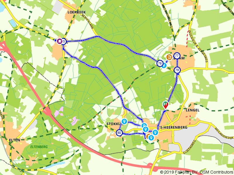 Rondje NK Wielrennen Montferland
