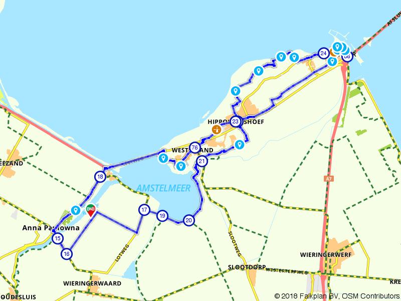 Fietsen door de Oostpolder en voormalig eiland Wieringen
