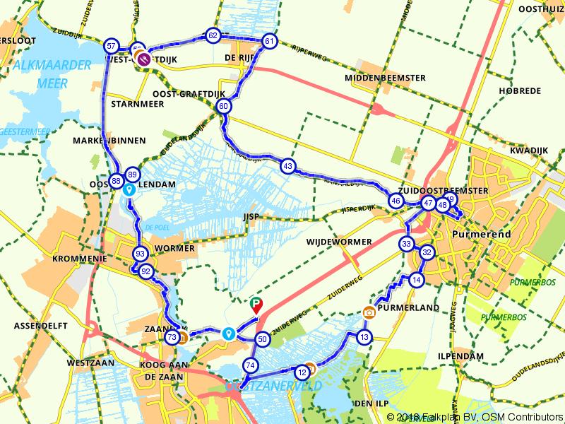 Fietsen door het Hollandse laagland