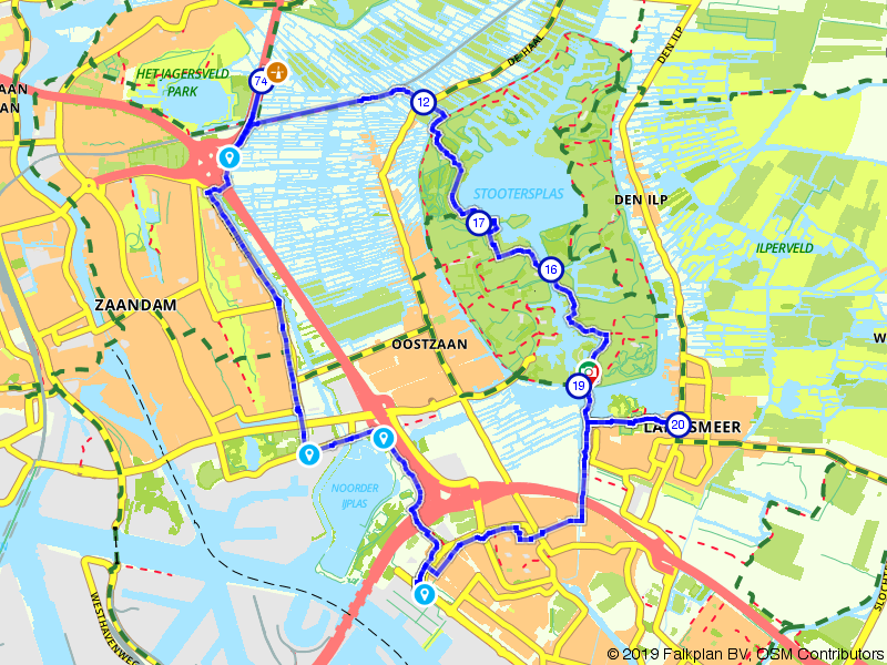 Ontdek de omgeving van Zaandam