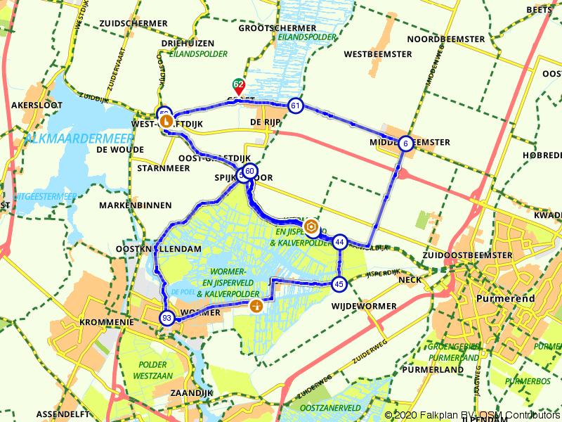 De Welgelegen route