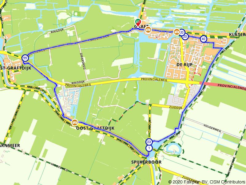 Wandelen door oude Hollandse dorpjes