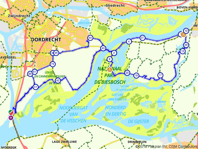 Fietsen door Nationaal Park de Biesbosch