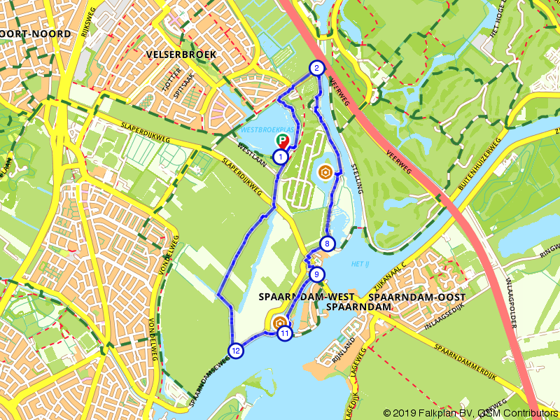 Historische fortenroute langs de Stelling van Amsterdam